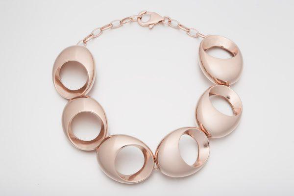 Pulsera Spei oro rosa 6 piezas